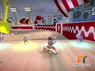 Race Gameplay Clip de LittleBigPlanet Karting