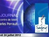 Journal du centre de Loisirs Charles Perrault du mardi 24 juillet 2012