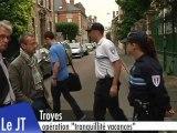 """Opération """"tranquilité vacances"""" (Troyes)"""