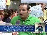 Vecinos del norte de Caracas protestan en rechazo a las invasiones