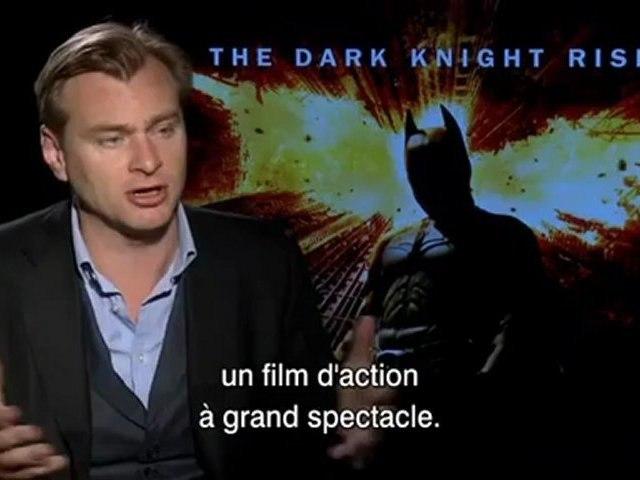 The Dark Knight Rises - Interview Christopher Nolan