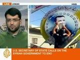 Al Jazeera speaks to Malik al Abdeh about the latest  in Syria