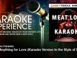 Charttraxx Karaoke - I'd Do Anything for Love - Karaoke Version In the Style of Meat Loaf