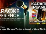 A-Type Player - Endless Love - Karaoke Version In the Art of Lionel Richie