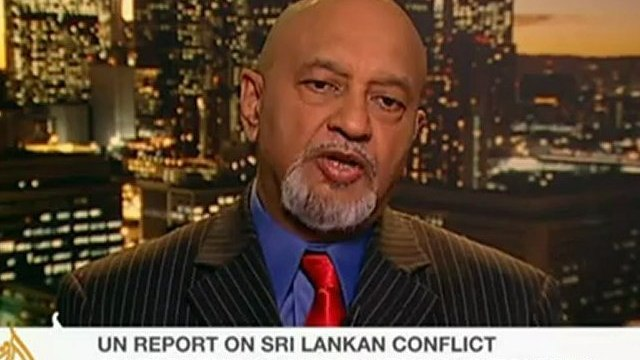 Donald Gnanakone, President, Tamils for Justice speaks to Al Jazeera