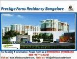 Prestige Ferns Residency @ 09999620966, Prestige Ferns Residency Sarjapur Road, Prestige Sarjapur Bangalore
