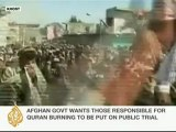 Al Jazeera speaks to Afghan political analyst on Quran protests