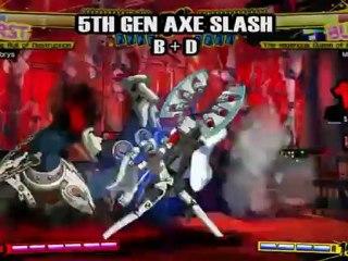 Shadow Labrys de Persona 4 Arena
