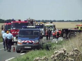 Beauvais/Crévecoeur : quatre morts dans un dramatiques accident de la route