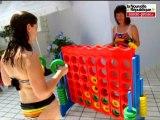 VIDEO Châtellerault: jeux, sport et détente à la piscine