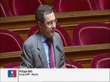 Philippe Bas, Sénateur de Basse-Normandie : Stationnement des véhicules des personnes handicapées sur le domaine public
