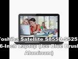 Toshiba Satellite S855D-S5253 15.6-Inch Laptop (Ice Blue Brushed Aluminum)   New Toshiba Laptops 2012