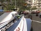 F1 2011 - GP de Monaco - Départ (1er tour)