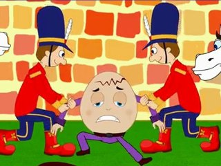 Humpty Dumpty Sat On A Wall - Nursery Rhymes with Full Lyrics