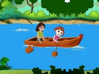 Row Row Row Your Boat - Nursery Rhymes with Full Lyrics