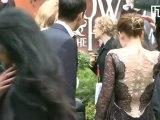 Kristen Stewart and Rupert Sanders at Snow White premiere