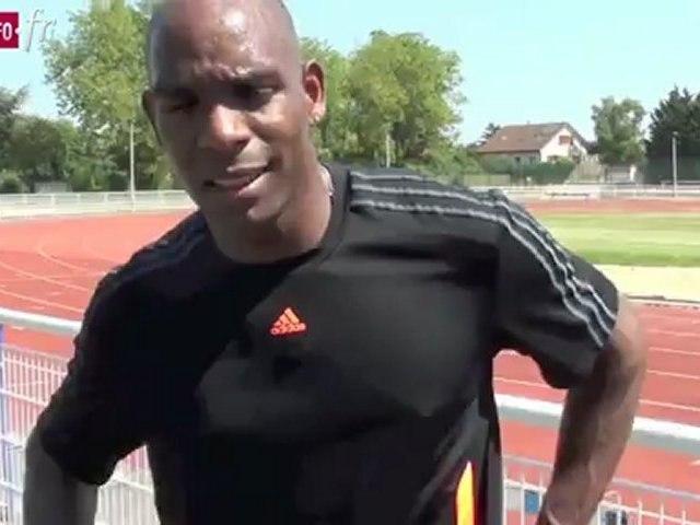 Entraînement olympique pour Ronald Pognon