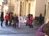 SICILIA TV (Favara) Crollato parte edificio di Via San Rocco a Favara