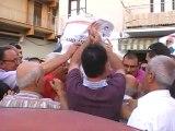 SICILIA TV (Favara) Reazioni a caldo del neo sindaco di Favara Manganella