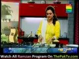 Shan Ki Lazat Bushra Ke Sath - 26th July 2012 - [Das qeema, Aloo Ki Chaat ] - Part 1