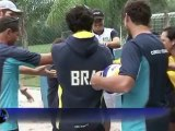 Brazilian beach volleyball players hope to shine