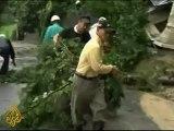 Typhoon Talas leaves deaths and landslides in Japan