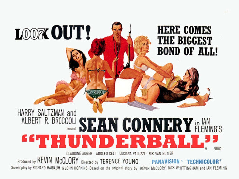 James Bond 007 : Thunderball (1965) - Theatrical Trailer [VO-HD]