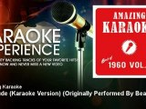 Amazing Karaoke - Hey Jude (Karaoke Version) - Originally Performed By Beatles - KaraokeExperience