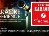 Amazing Karaoke - Wooden Heart (Karaoke Version) - Originally Performed By Elvis Presley