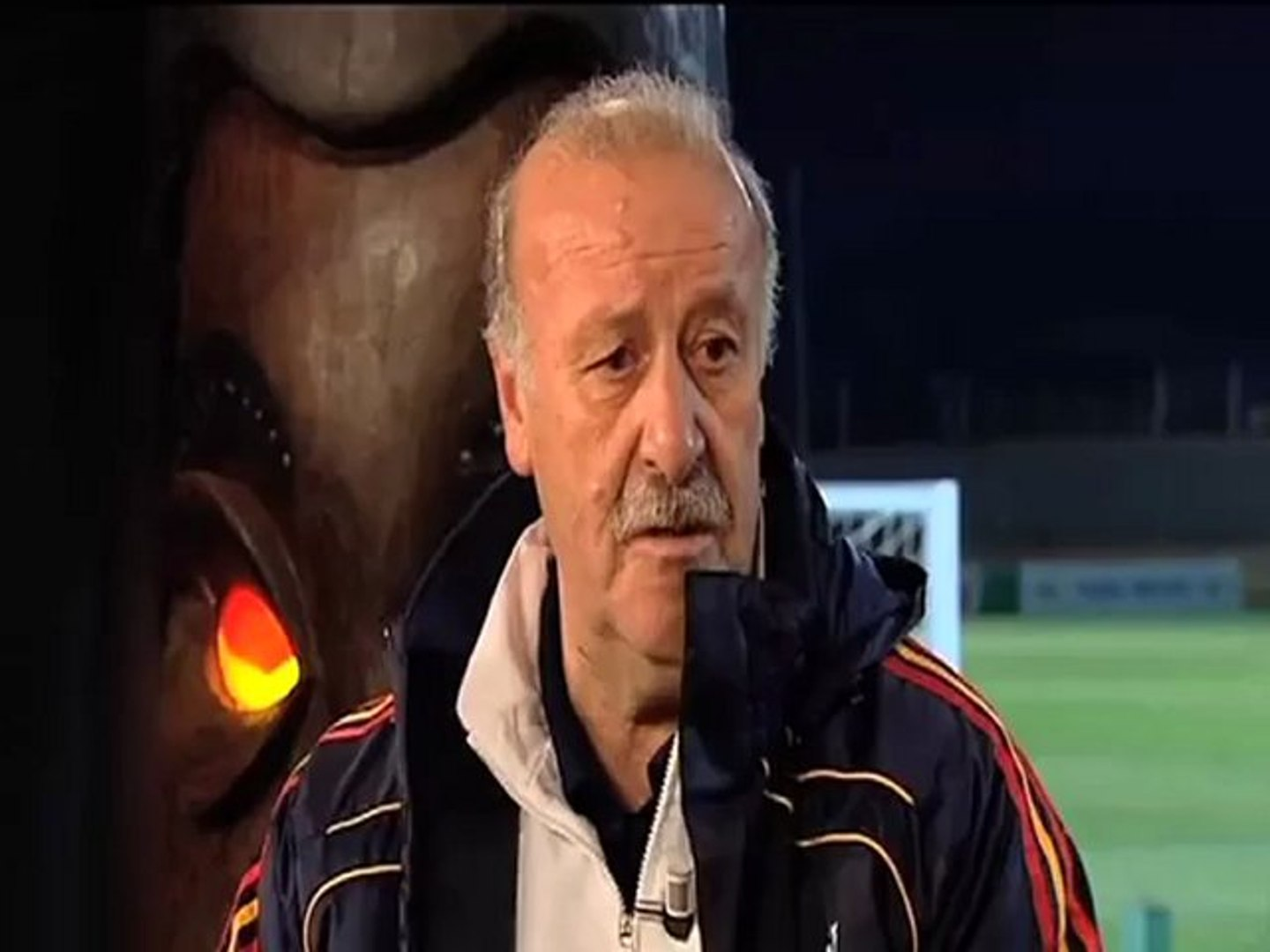 Del Bosque se sincera