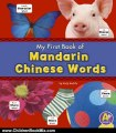 Children Book Review: My First Book of Mandarin Chinese Words (Bilingual Picture Dictionaries) by Katy R. Kudela, Translations. com