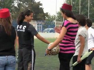 AMINA ZOUBIR >>> Prends ta place ! >>> Episode 6 : Le match de foot