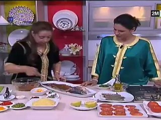 Fatima Tihihit - poissons farcis