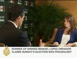 Lucia Newman speaks to Enrique Pena Nieto