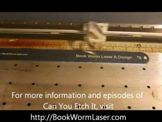 Can You Etch It - Laser Engraved Anodized Aluminum Ruler