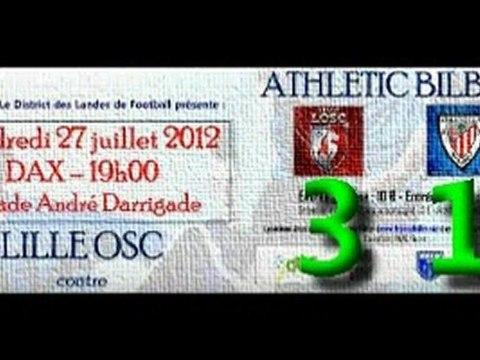 Amistoso: Lille OSC 3 - Athletic 1 (27-07-12)