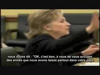 Hillary Clinton : Nous avons crée Al-Qaïda,  Nous avons financé les Moudjahidin