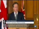 """Rajoy y Cameron hablan de Gibraltar: """"Tenemos posiciones diferentes"""""""