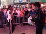 Battle at Times Square - Live Show. New-York City.