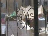 Syria فري برس درعا المحطة اشتباكات بمخفر المخيم 27 7 2012 ج7 Daraa