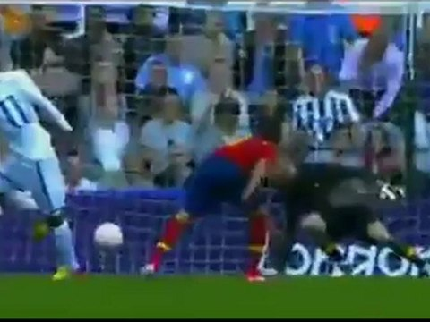 Gol de Bengtson (Honduras) vs España