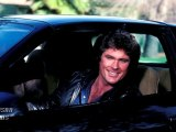 DAVID HASSELHOFF BUILDING KNIGHT RIDER KITT CAR, HOFF COFFEE CUT-OUTS STOLEN