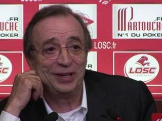 Michel Seydoux et les objectifs du LOSC dans le Grand Stade