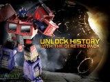 "TRANSFORMERS Fall of Cybertron | Optimus ""Generation 1 - Retro Pack"" Trailer | 2012 | HD"