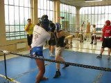 Sparing with an African Champion over  Aix les Bains 2010