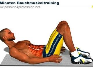 Niveau 2 - Perfektes Bauchmuskeltraining in 8 minuten