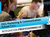 L'intégration professionnelle à l'ISEG Marketing & Communication School Paris