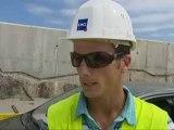 Tarnos (40) : travaux majeurs sur la digue