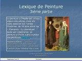 Lexique de Peinture (3iéme partie sur 4)