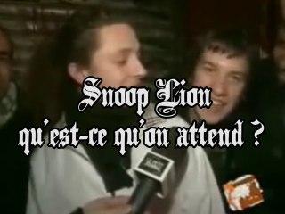 Snoop Lion ! Qu'est ce qu'on attend ?